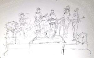 jam, drawing