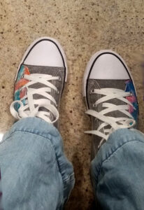 shoes on journey